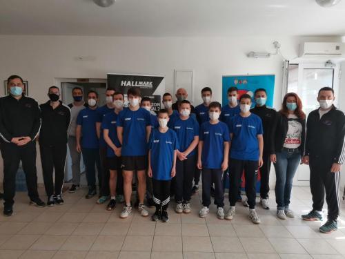 Pripreme mladih takmičara STSV - Ada